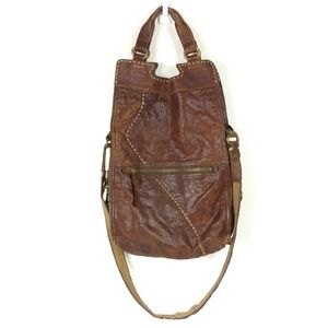 Lucky Brand Abbey Road Brown Messanger Bag